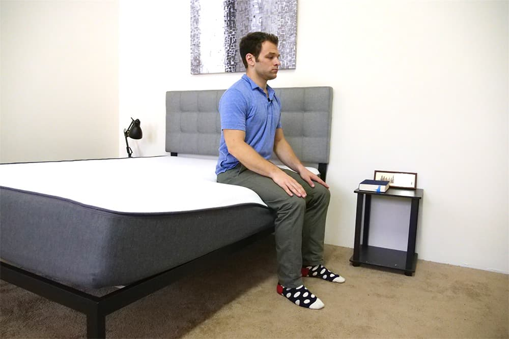 Casper Mattress Edge Support Seated