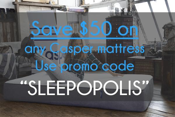 $50 casper mattress promo code discount | sleepopolis