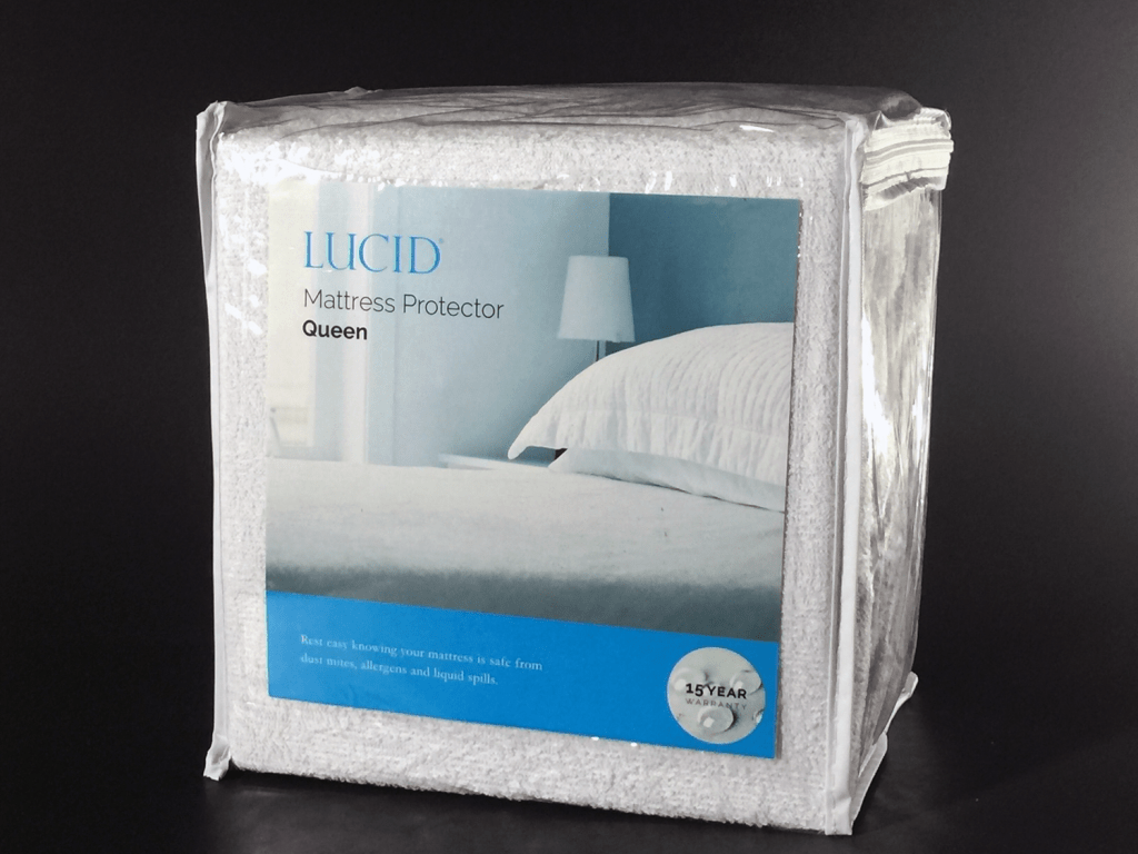 Lucid mattress protector - Queen size (waterproof)