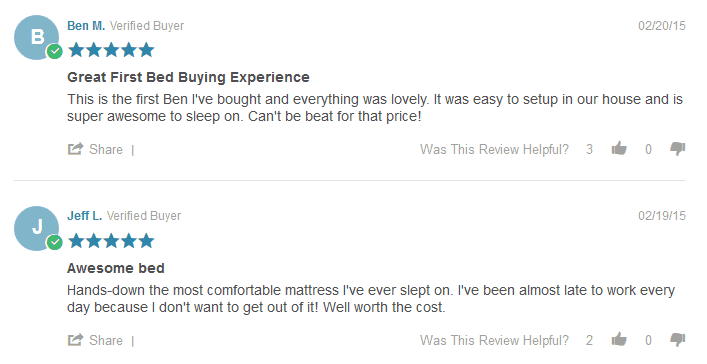 Leesa Mattress Reviews