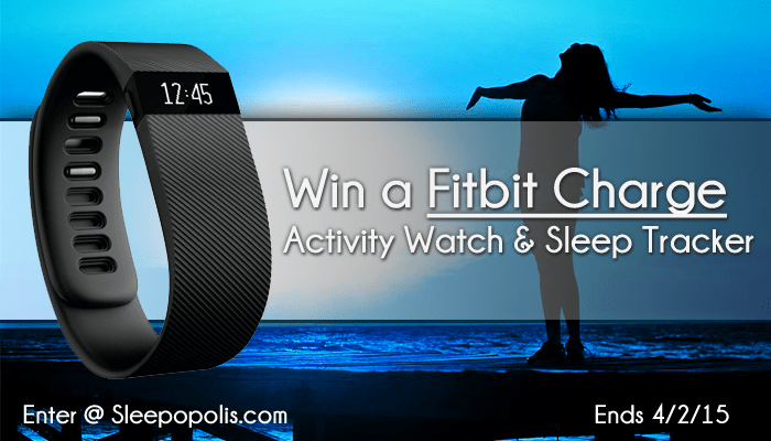 Fitbit Charge Giveaway - Fitness & Sleep tracker