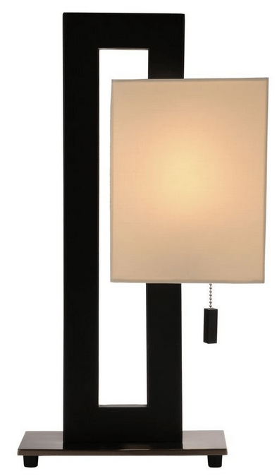 Example of a modern minimalist lamp for your nightstand