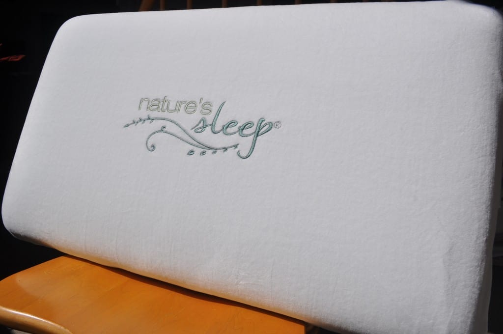 Nature's Sleep Gel Infused Memory Foam Pillow