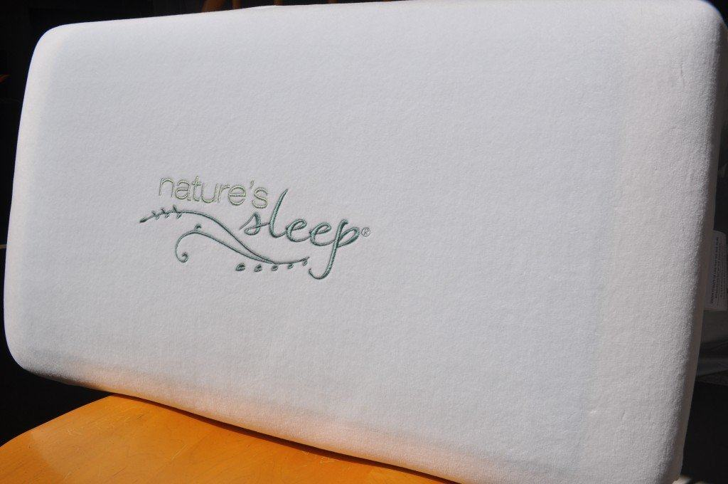 Nature's Sleep Gel Memory Foam Pillow