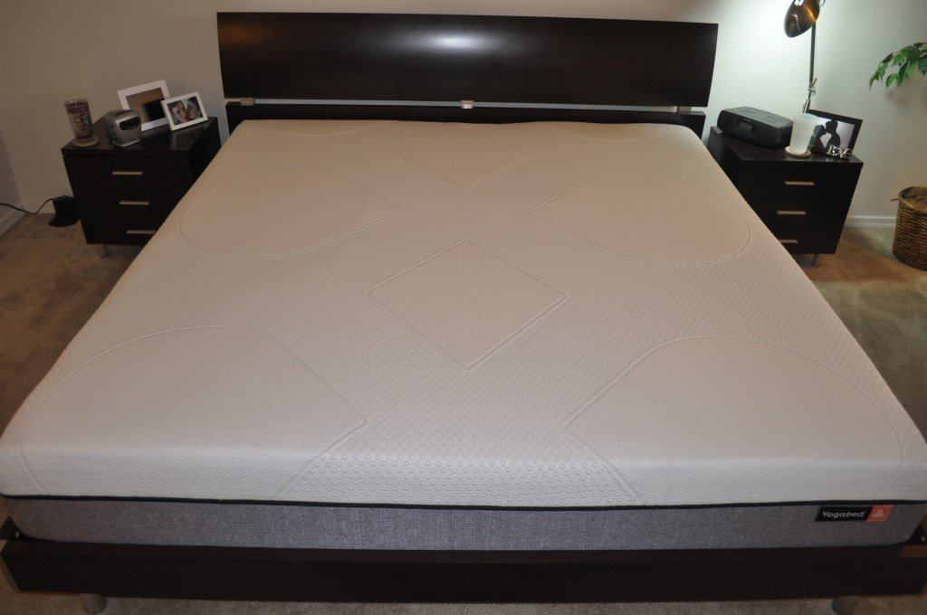 Shot of my king sized Yogabed mattress