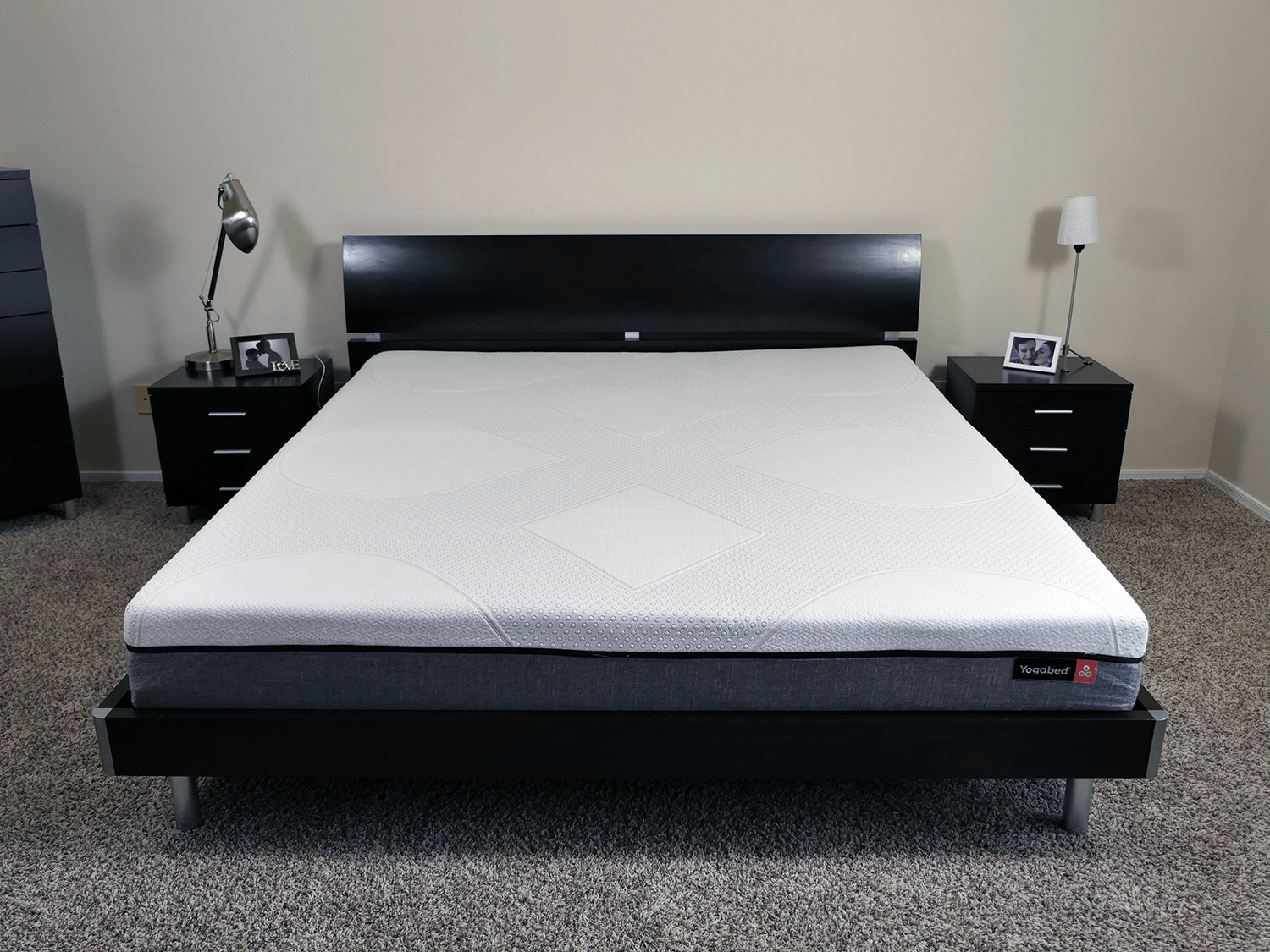 Yogabed mattress - King size, platform bed
