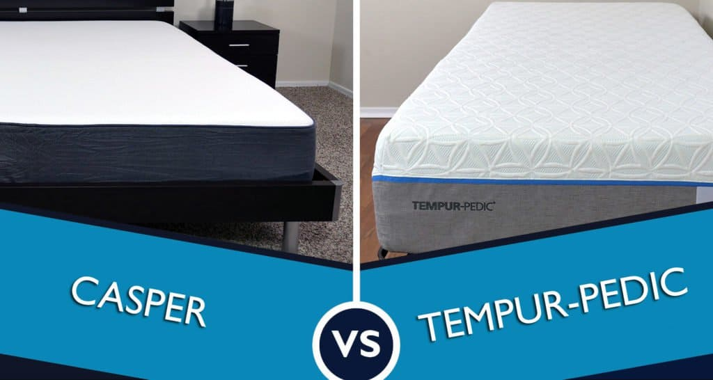 Casper vs Tempurpedic Mattress Review Sleepopolis