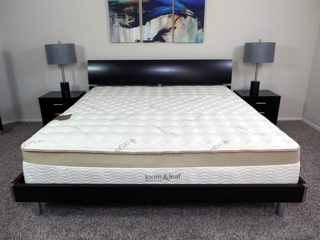 Loom and leaf vs tempurpedic mattress review sleepopolis for Best king size mattress reviews