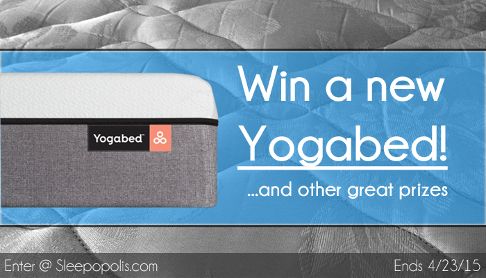 Yogabed mattress giveaway