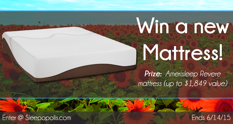 Amerisleep mattress giveaway