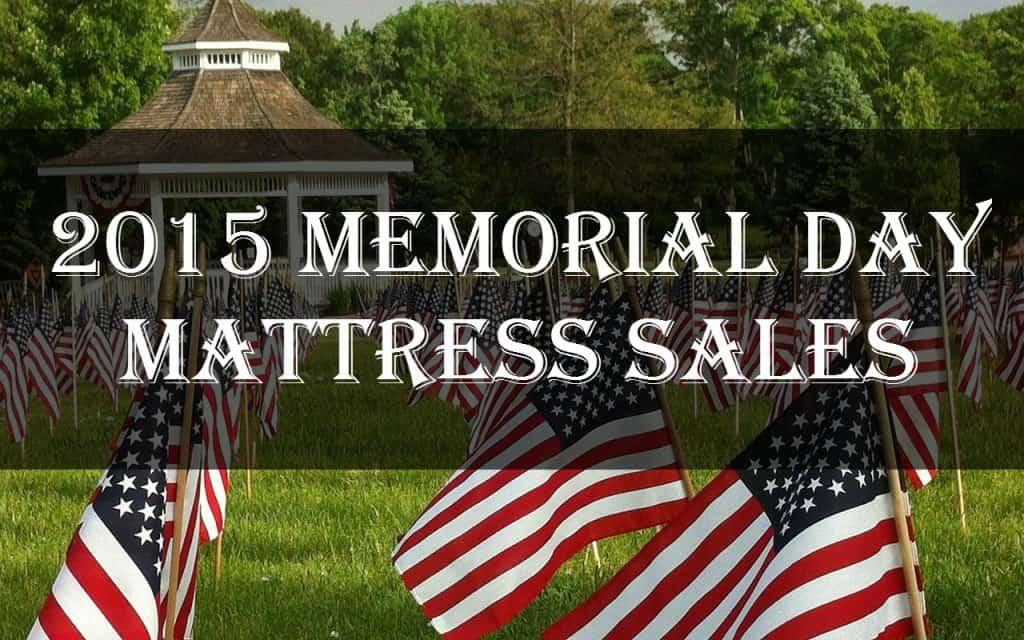 Best mattress sales for Memorial Day 2015