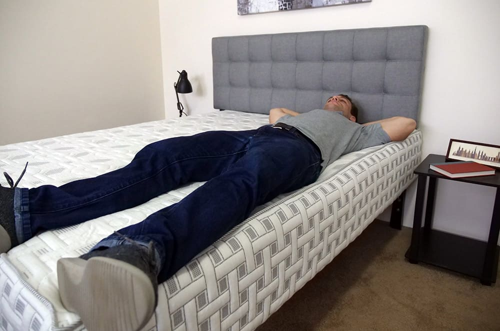 4Sleep Mattress Laying On Edge