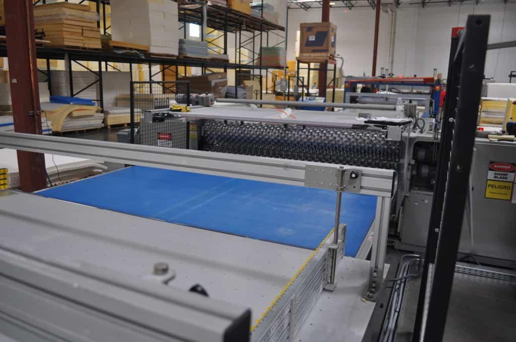 convoluted foam machine