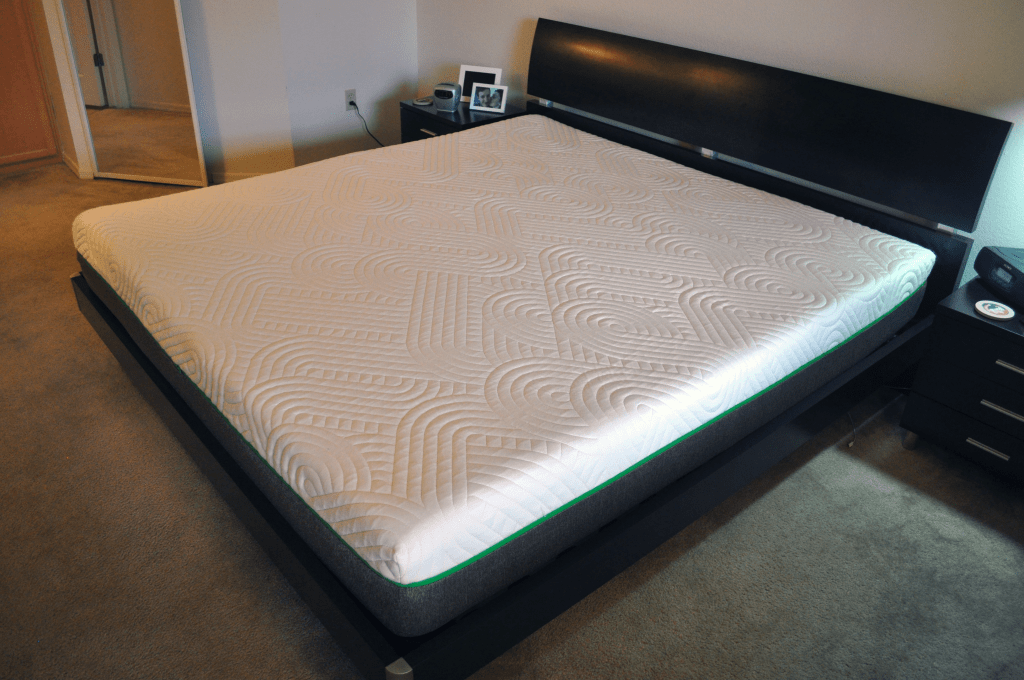 Live and Sleep mattress - angled view