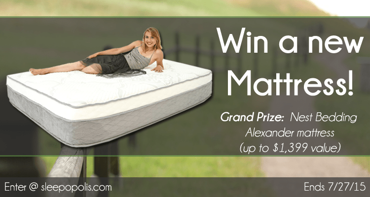 Win a brand new Alexander mattress from Nest Bedding!