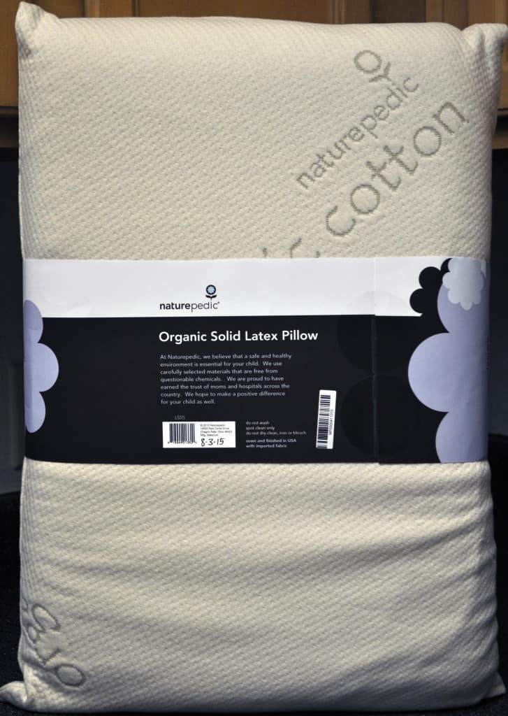 Naturepedic organic latex pillow - standard size