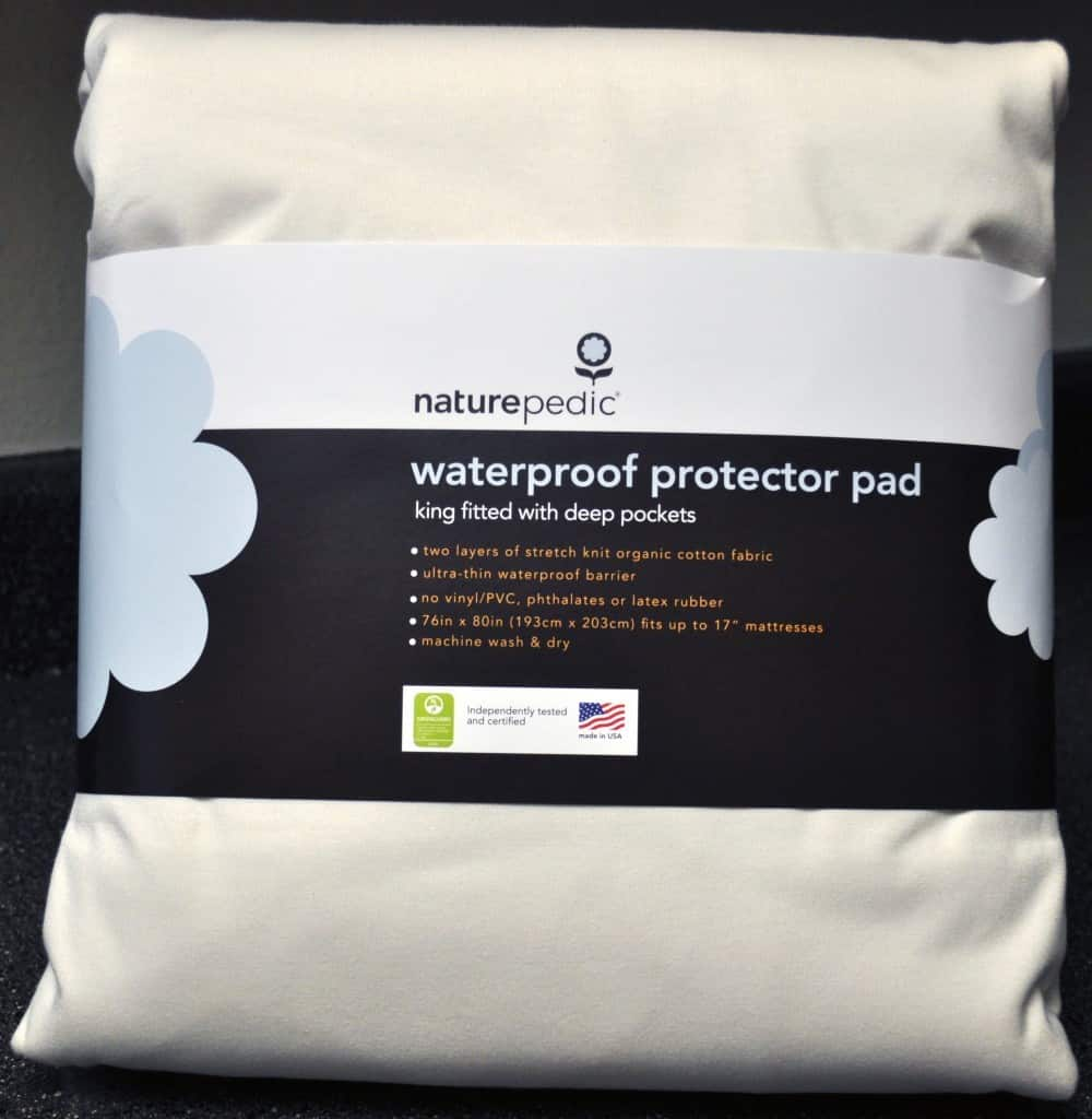 Naturepedic organic waterproof mattress protector
