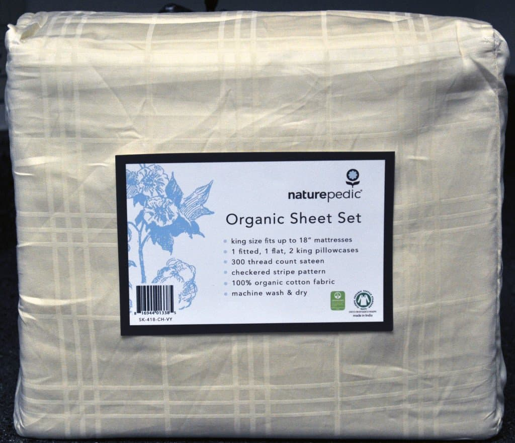 Naturepedic organic sheets