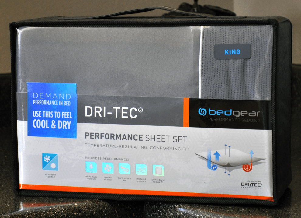 bedgear Dri-Tech sheets