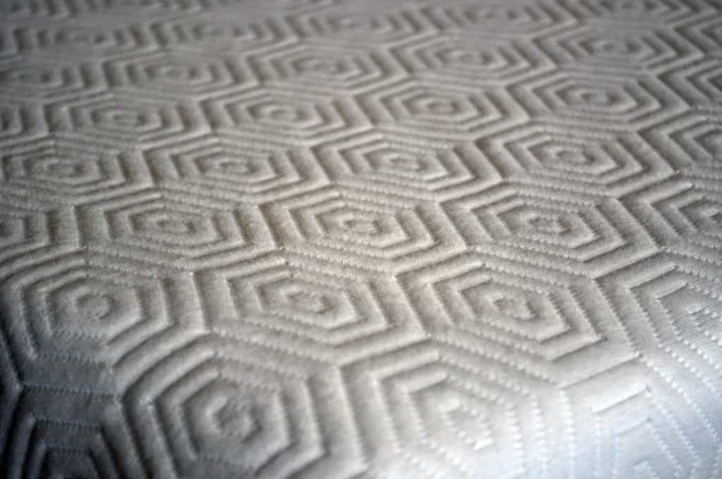 Celliant infused mattress cover (Bear mattress close up)