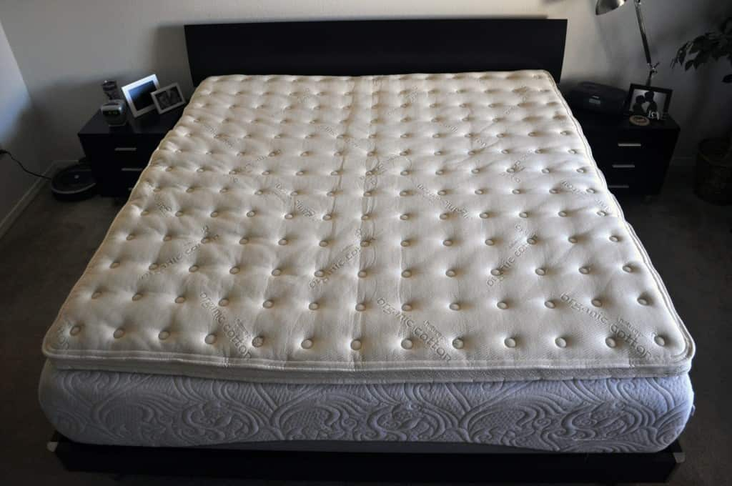 Naturepedic Organic Latex Mattress Topper Review Sleepopolis
