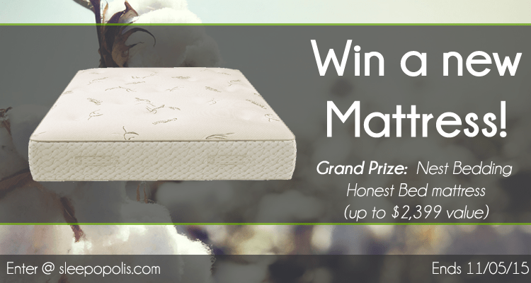 Win a brand new Honest Bed mattress from Nest Bedding!