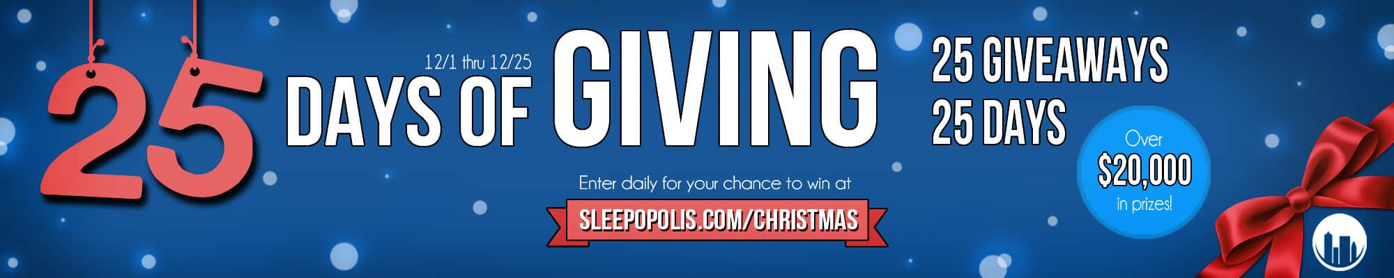 Sleepopolis Christmas Giveaway Spectacular
