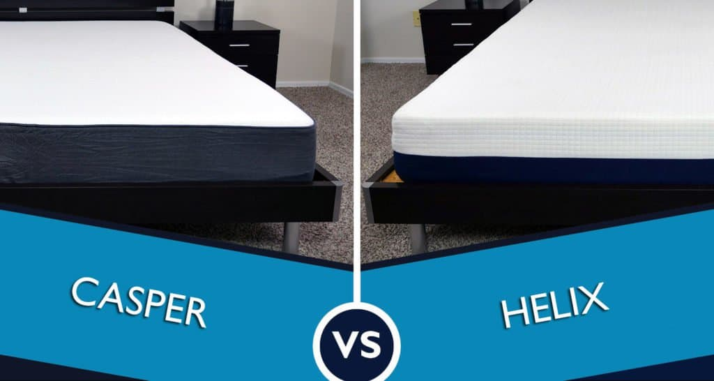 helix vs. casper mattress review | sleepopolis