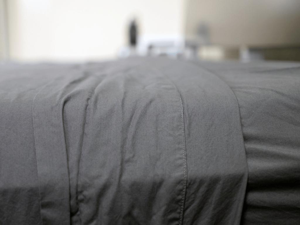Parachute sheets close up image