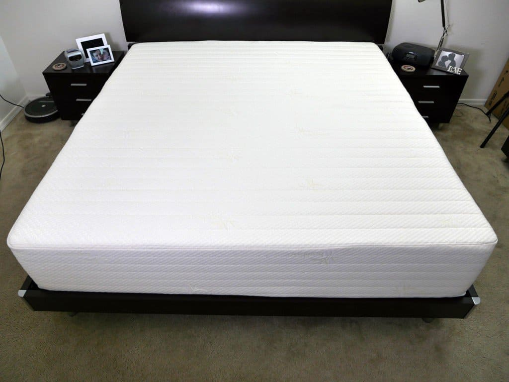 Brentwood home mattress - King size, platform bed