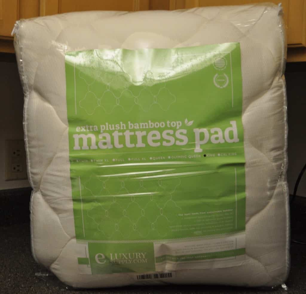 eLuxurySupply bamboo mattress pad