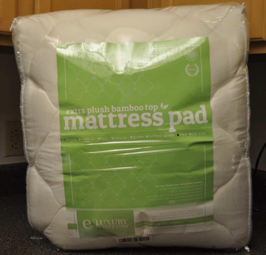 eLuxurySupply bamboo mattress pad
