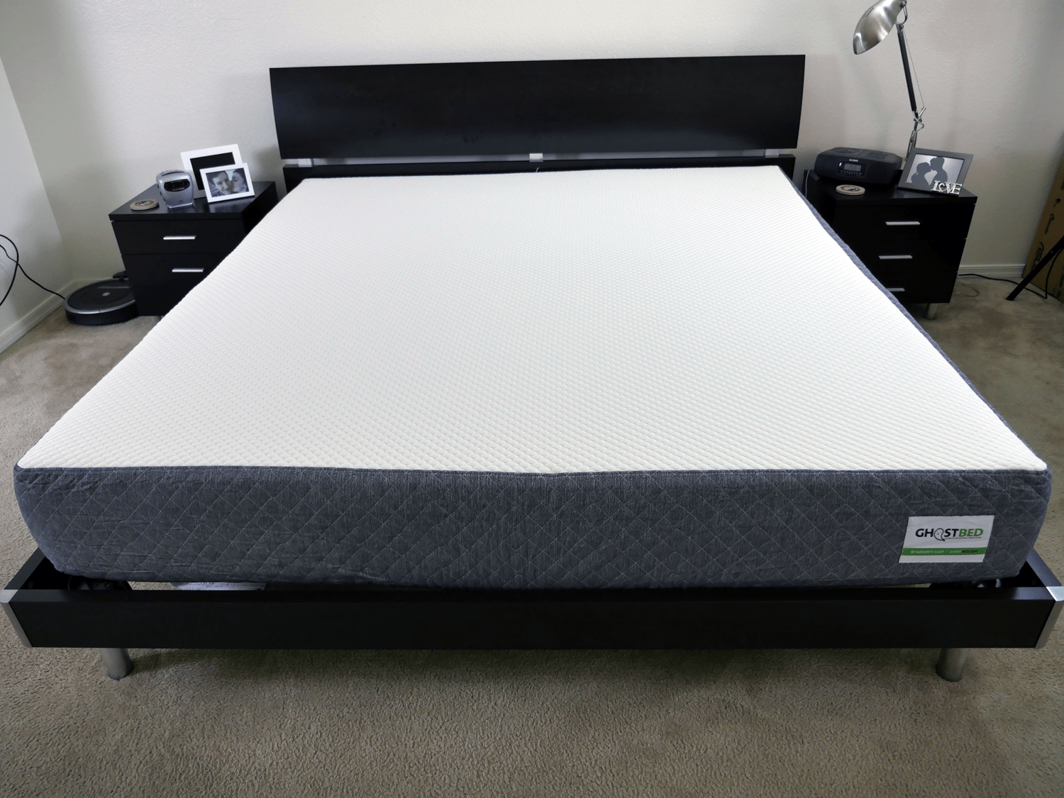 Ghostbed mattress review sleepopolis for Brooklyn bedding vs tempurpedic