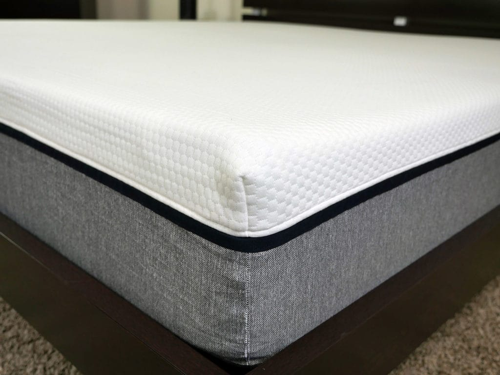 Close up shot of the Lull mattress cover