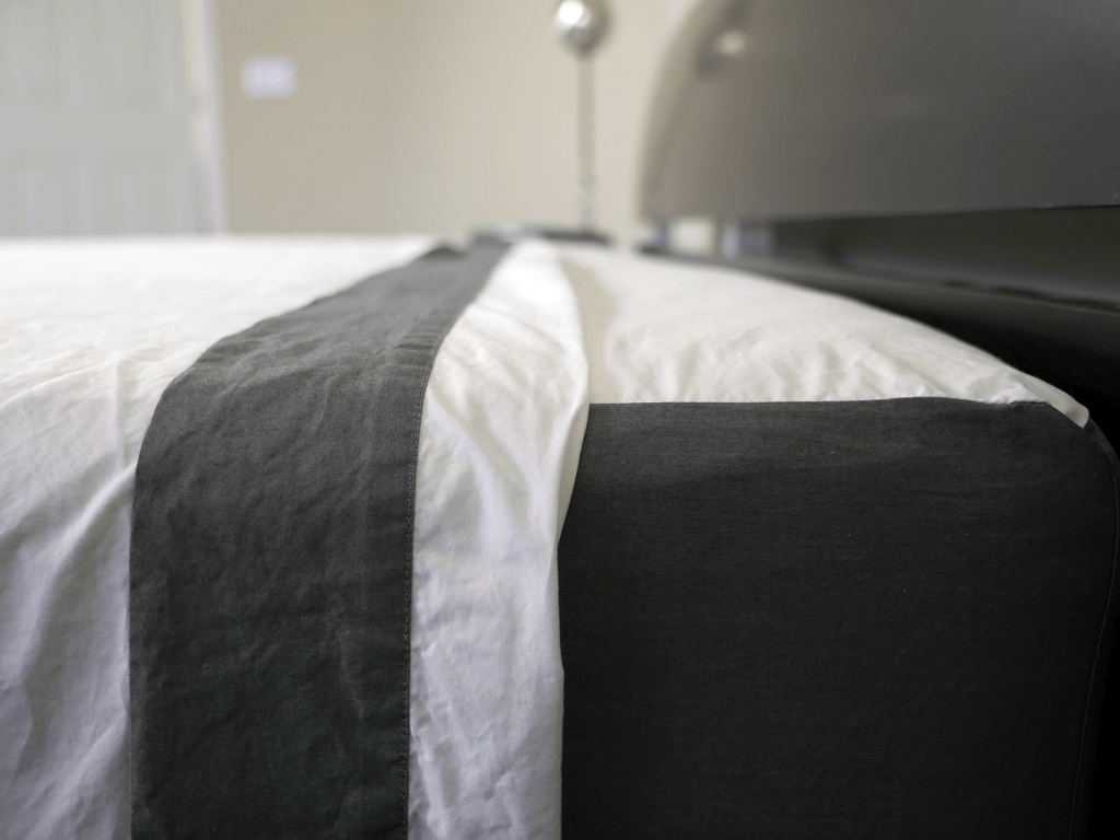 Close up shot of the Casper sheets