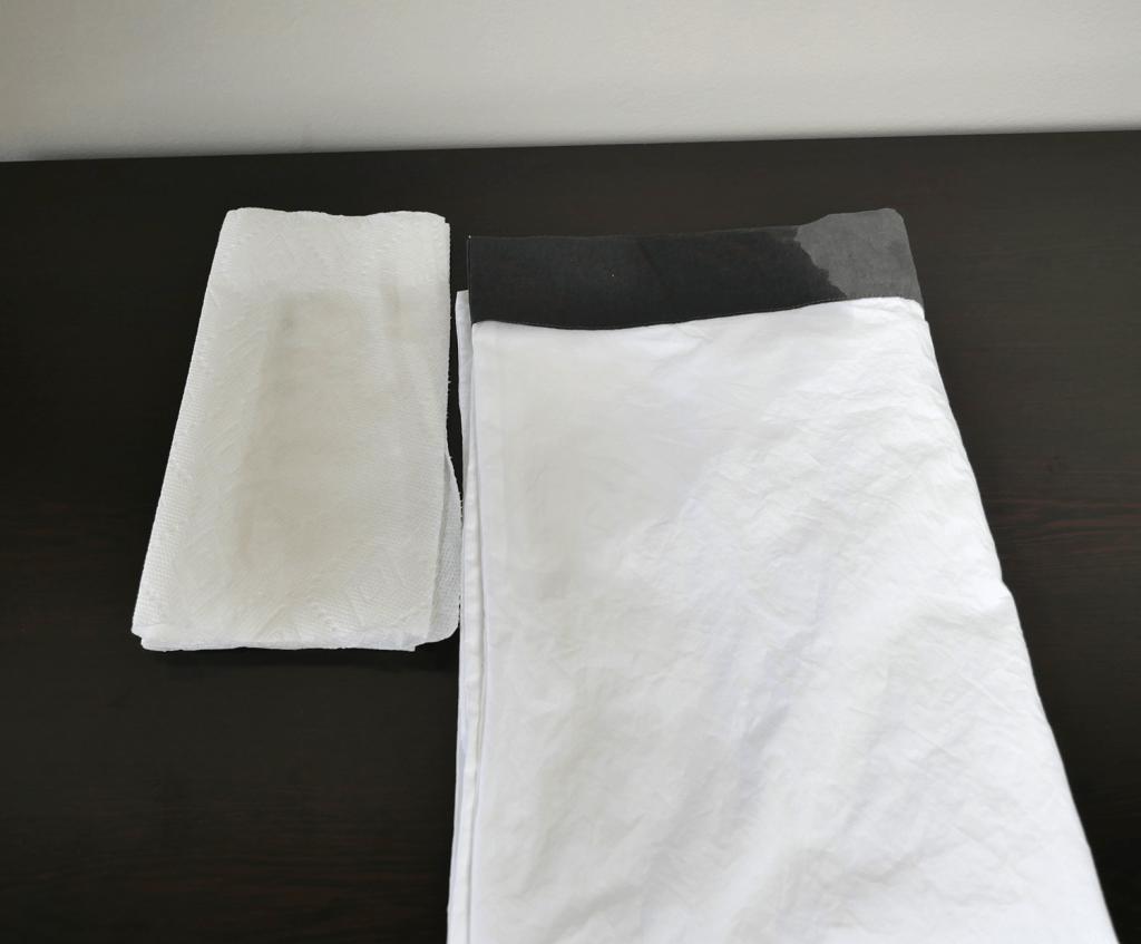Casper sheets color test - zero color transfer