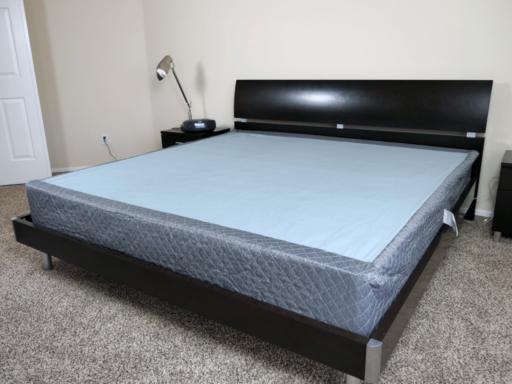 ghostbed boxspring foundation review sleepopolis. Black Bedroom Furniture Sets. Home Design Ideas