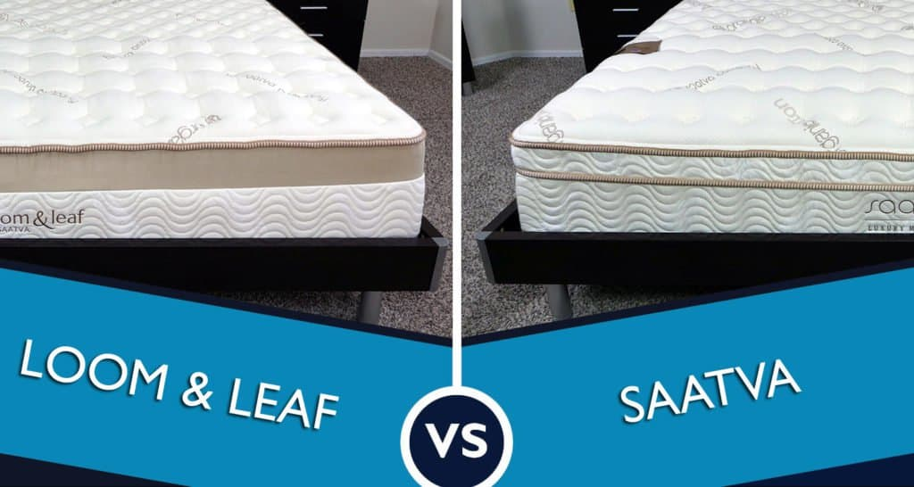 Loom and Leaf vs. Saatva mattress review