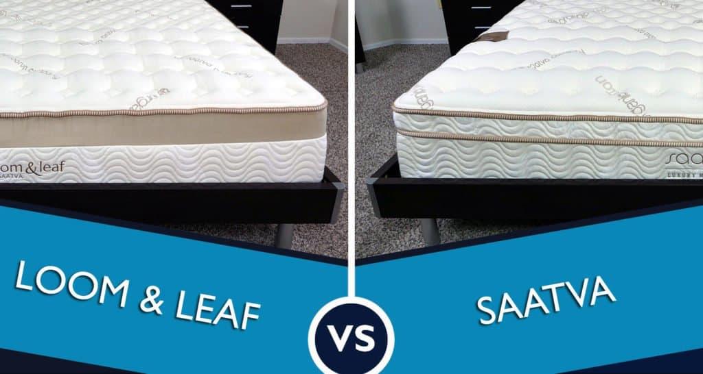 Loom and Leaf vs. Saatva mattress review