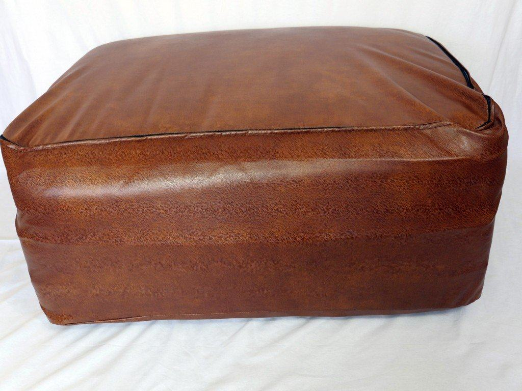 Ooroo mattress (Twin XL size) with leather cover on