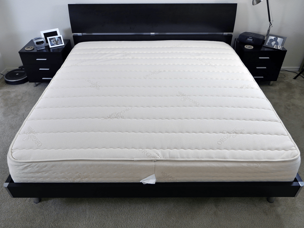 Latex foam mattresses