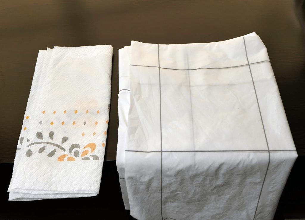 Brooklinen sheets color test - zero color transfer