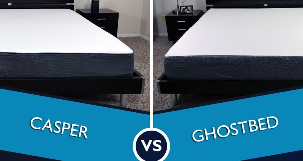 Casper vs. Ghostbed - who will reign king of the bedroom?!