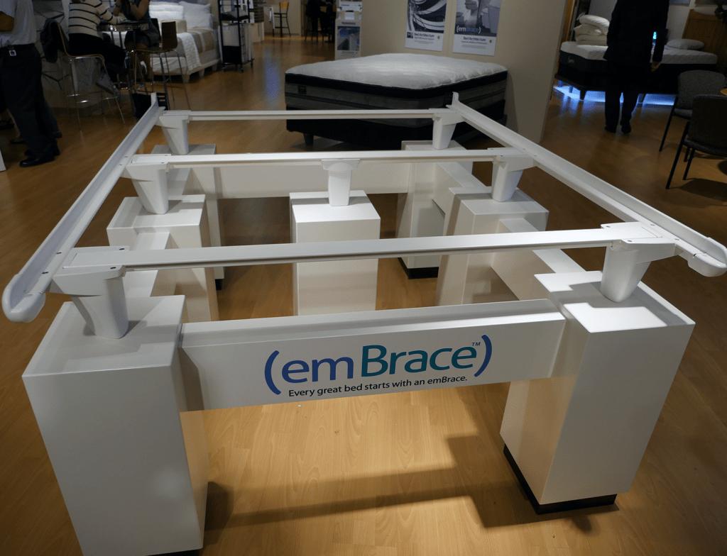 emBrace mattress foudation
