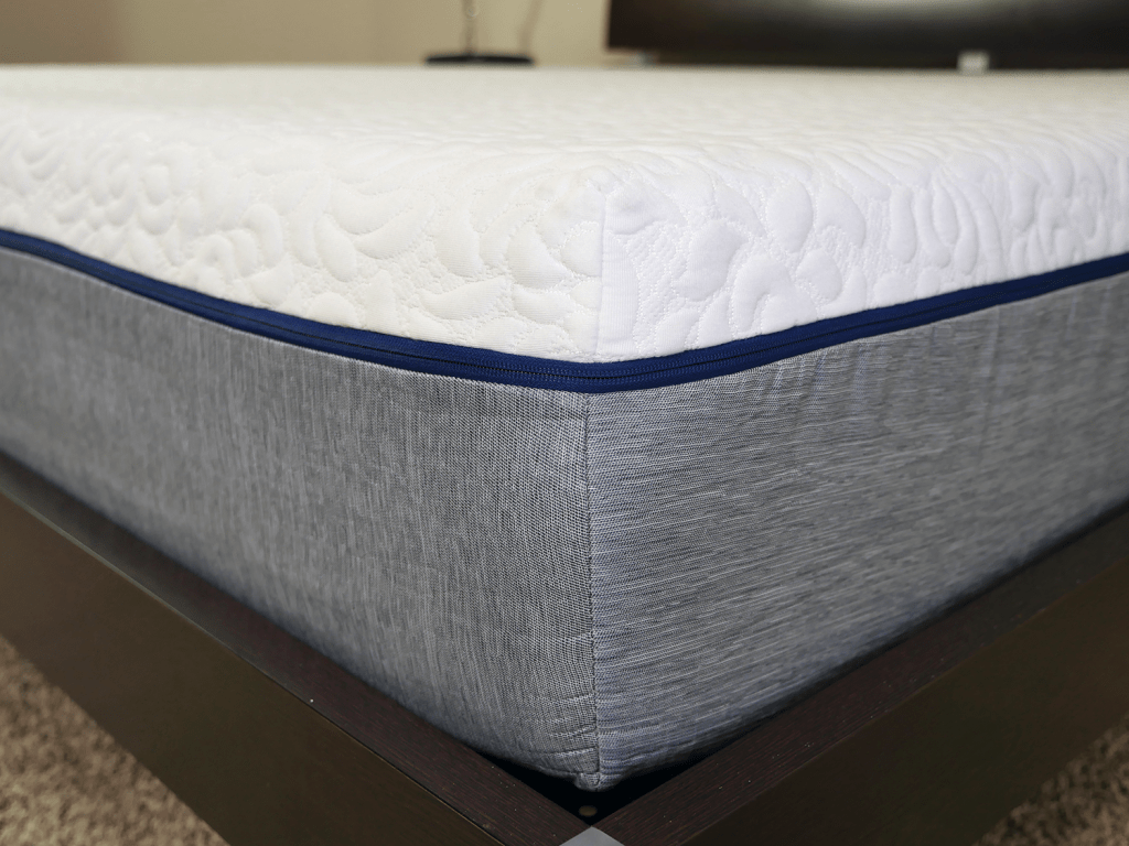 Close up shot of the NovosBed mattress cover