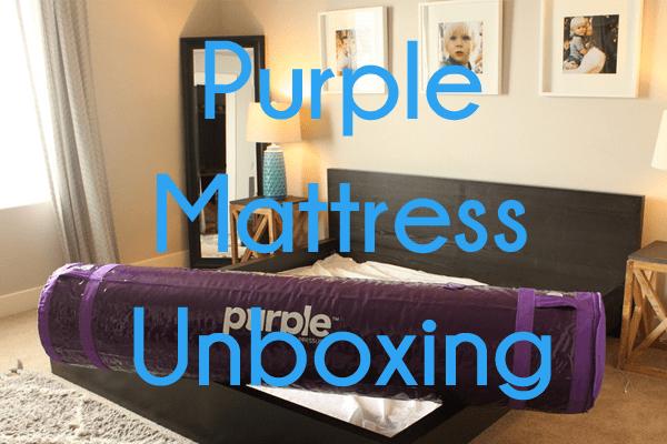 Purple Mattress Unboxing Sleepopolis