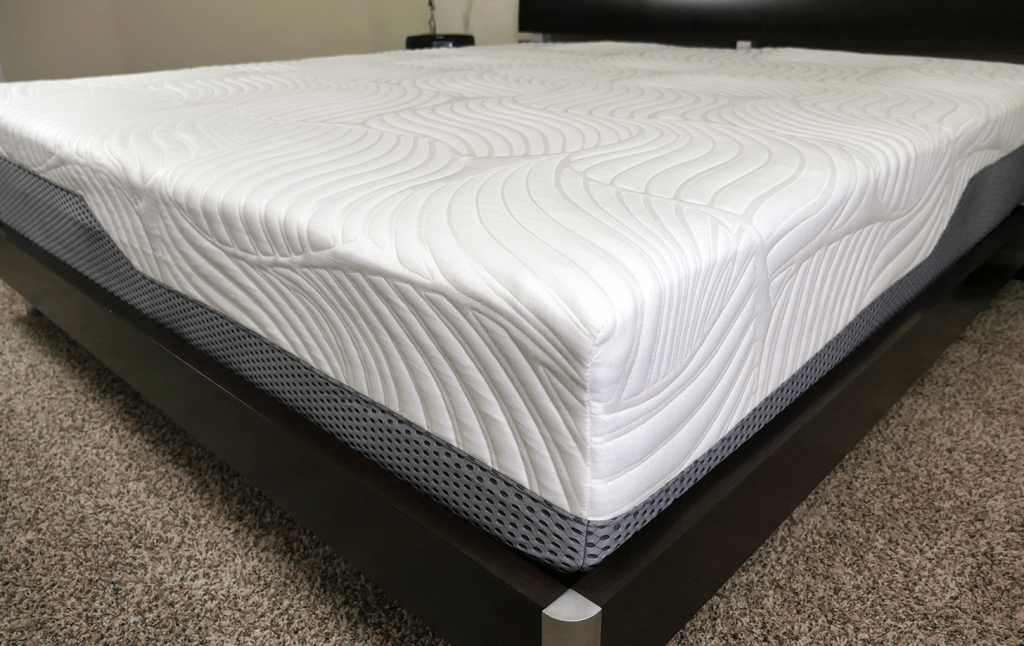 Close up shot of the Voila mattress cover