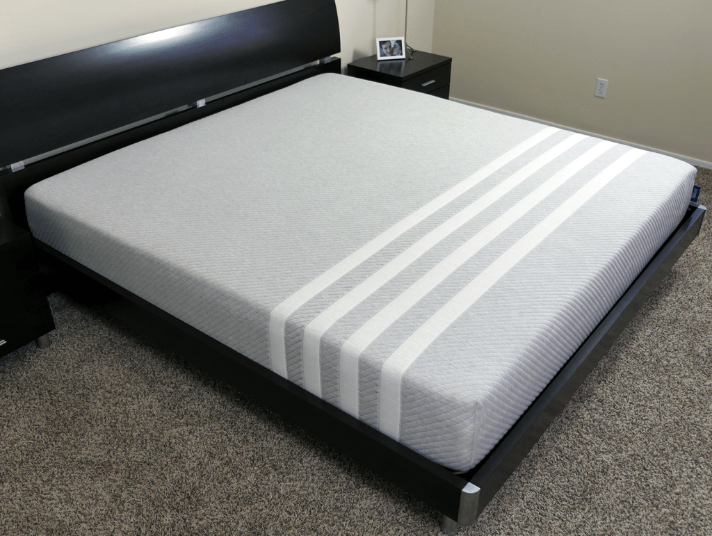 Leesa mattress on bed frame