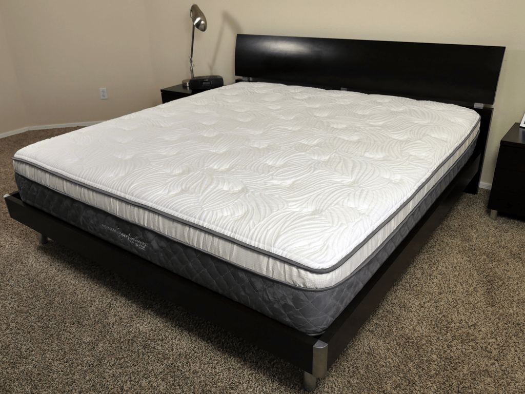 Nest Alexander mattress angled view