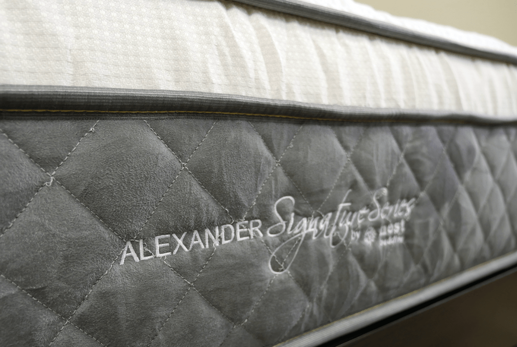 Close up shot of the Nest Alexander side panel